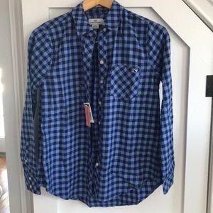 New with tags vineyard vines flannel
